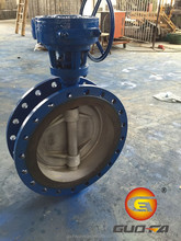 Direct manufacturer Flanged Concentric Disc Butterfly Valve