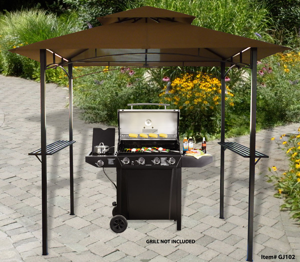outdoor folding bbq grill gazebo tent buy gazebo tent folding bbq grill bbq grill gazebo. Black Bedroom Furniture Sets. Home Design Ideas