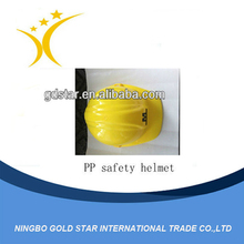 New style and cheap plastic safety helmet