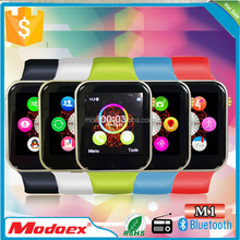 cheap price touch screen MTK smart watch phone with 128M+64M memory max support 32GB TF card