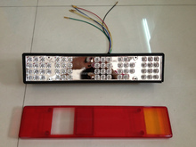 New pruduct Kamaz led narrow tail lamp car accessory for russian truck
