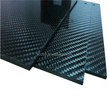 Plaque de Fiber de carbone en Fiber de carbone CNC pièces en Fiber de carbone pièces de découpe