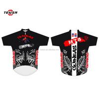 MTB cycling jersey custom, short sleeve ride jersey