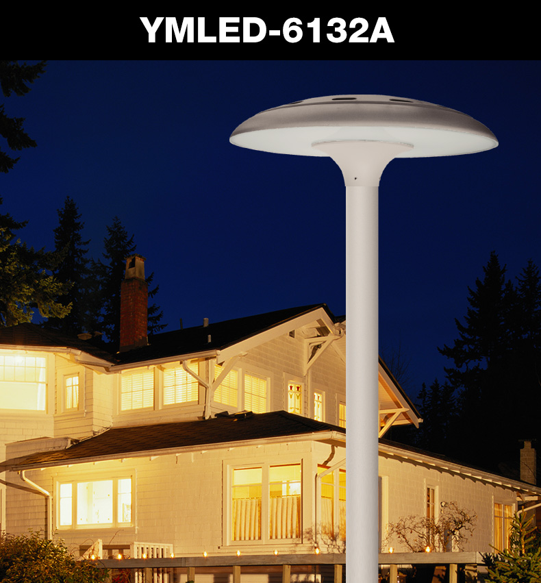 IP65 waterproof 5 years warranty LED decorative garden lamp post