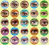 25 colors Korea cosmetic freshtone color contact lens wholesale colored contacts