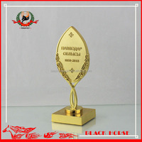 2014 most popular gold pewter casting