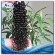 Tangle Free Hot Sell Short Hair Brazilian Curly Weave