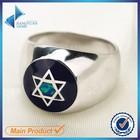 opala jóias estrela de prata 925 anel