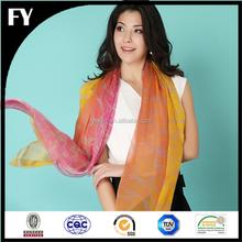 make to order digital printed stole shawl scarf china supplier