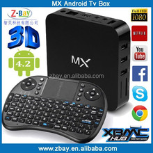 Hot selling dual core android tv box russian internet tv box