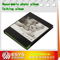 Voice recordable photo album with cheap price