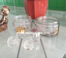 5g 15g 20g 30g 50g clear skin/face cream glass bottle