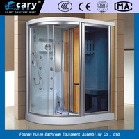 home use steam room for sale/ round portable steam shower room,corner standing steam cabin