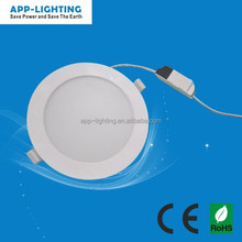christmas gift! unique design 9w led round panel light! bedroom kitchen led ceiling downlight