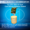 SS-5293-3000 UV Dual Cure neutral Silicone Adhesive Sealant for manual and automatic dispensing equipment