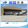 stronger and durable light steel structure or steel frame prefabricated aircraft hangar for construction