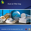 Polyester PPS nonwoven filter fabric cloth dust air filter bag filter media