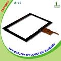 """Pantalla táctil de la fábrica 10.1"""" pantalla táctil capacitiva de la pantalla lcd del panel de vidrio"""