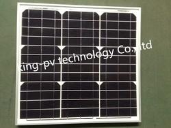 with TUV, CQC, ISO, CE certificates mono 40w solar panel