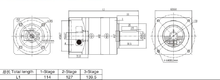 Planetary Gear Gearbox Variator/Planetary Reduction Gearbox for Servo motor