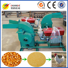 15HP Diesel engine chicken feed crusher grinding mills for sale in zimbabwe
