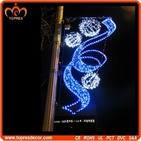 Christmas led decoration fancy rope light motif