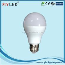 Plastic Led Bulb Manufacturer e27 7.5w 9w 10w Led Bulb pass 3000v LVD testing