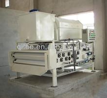 guardar la correa de prensa de filtro de agua para el agua residual municipal