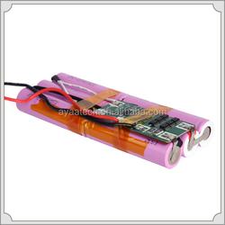 3S2P 11.1V/5.2Ah Li-ion battery pack for portable Defibrillator