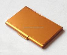 Gold color aluminum alloy business cardcase business namecard holder