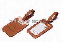 wholesale PU Leather Luggage Tag / Luggage tag manufacturer