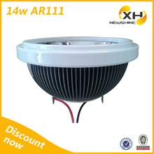 Factory Price 14W 220V 10degree High power cob ar111 led dimmable, ar111 g53 led