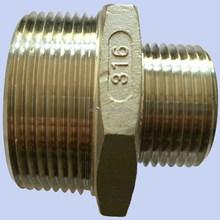 ASTM Stainless Steel 304/316 Reducer Hexagon Nipple