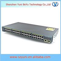 WS-C2960-48TT-S Cisco 10/100/1000 2960 Series manged switch