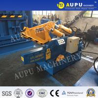 AUPU Q08 hydraulic scrap shear metal pipe Hot sale