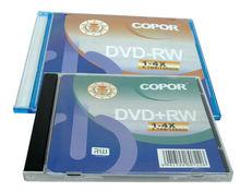 blank disc in bulk/free samples DVDRW/rewritable DVDs in 10pcs cake box