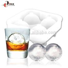 La fda eco- ambiente las bolas de hielo del molde para el whisky