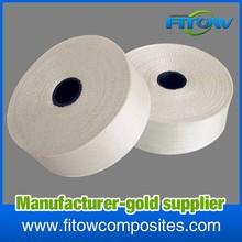 fiber glass insulation pipe tape / e glass duct tape /high temperature fiberglass tape