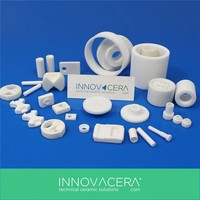 Good Electrical Insulator Alumina Fine Ceramics For Electronics Component/INNOVACERA
