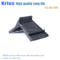 China supply cnc machine flexible protection cover