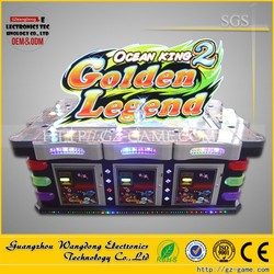Newest version IGS fishing game machine/Ocean King 2/Golden Legend hot sale