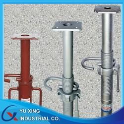 metal steel adjustable shoring prop for concrete formwork