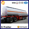 42,000L crude oil tanker trailer and petrol tanker trailer