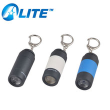 Factory Price Personalized Colorful PVC Plastic 1 LED Keyring