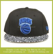 Good quality flat brim hip hop basketball cap snapback hat