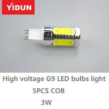 2015 NEW G4 LED cabinet light bulb 12V / G9 LED mirror light bulb 220V / E14 LED Chandelier Bulb 220V Manufacturer