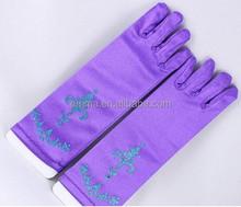Frozen Princess Anna Crown, Glove, Wand and Hair, Elsa Crown Gloves purple frozen gloves GL5018
