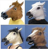 Trade Assurance Latex Halloween Mask, Party Mask, Latex Horse Mask