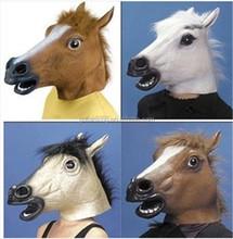 Trade Assurance Latex Halloween Mask, Party Mask, Latex Horse Mask