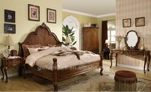 new models of wood double beds